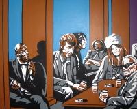 Bar Liberte -yksityiskohta